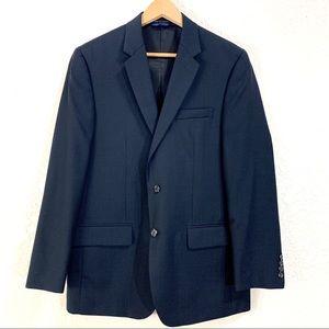 Alfani Men's Suit Blazer Jacket Blue Two-Button